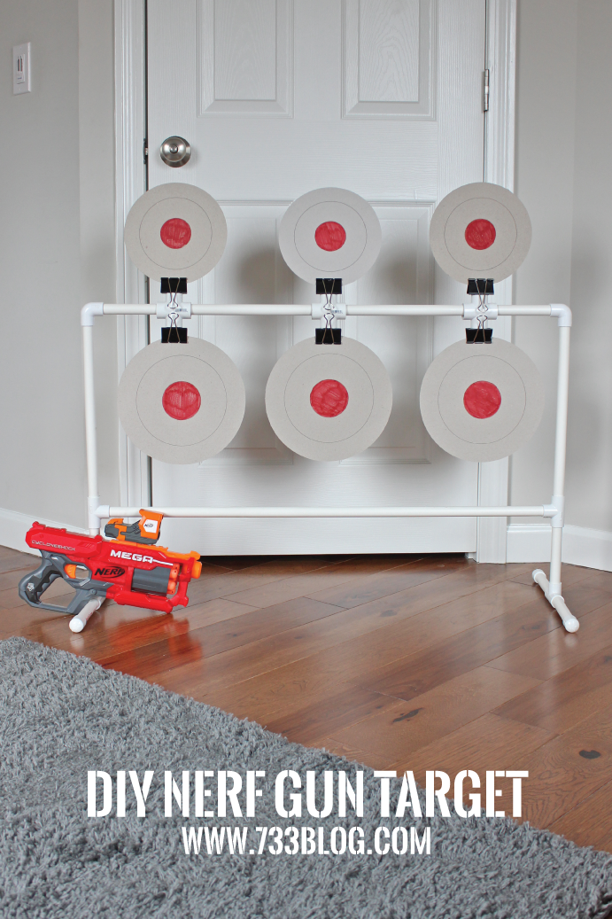 photograph regarding Nerf Gun Targets Printable named Do-it-yourself Nerf Spinning Concentration - Commitment Intended Straightforward