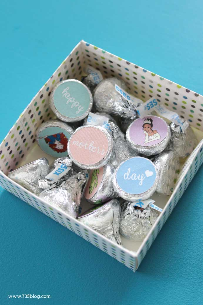 DIY Box of Chocolates for Mom this Mother's Day