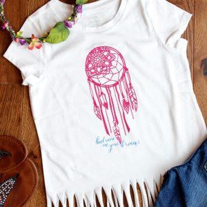 DIY Heat Transfer Vinyl Fringe T-Shirt