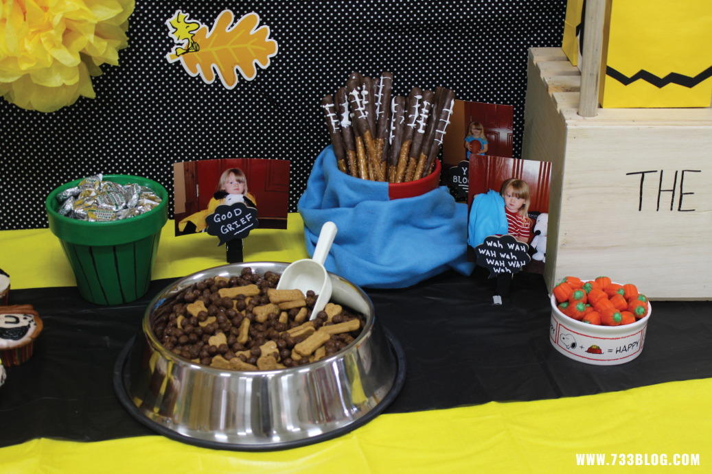 Snoopy Party Snack Ideas
