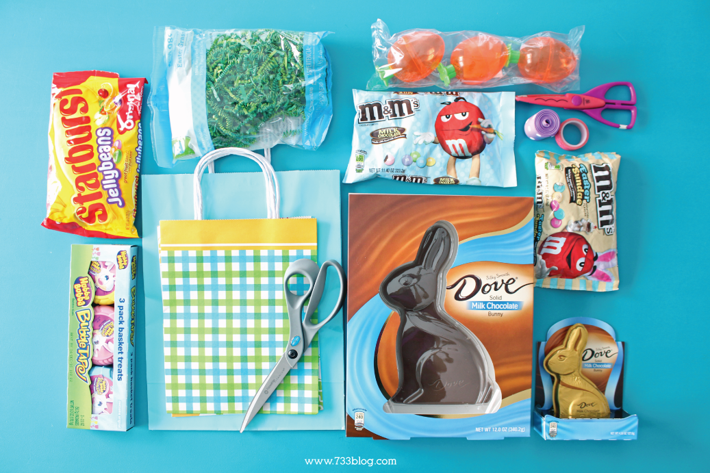 Diy gift bag easter basket gift ideas inspiration made simple diy gift bag easter basket negle Image collections