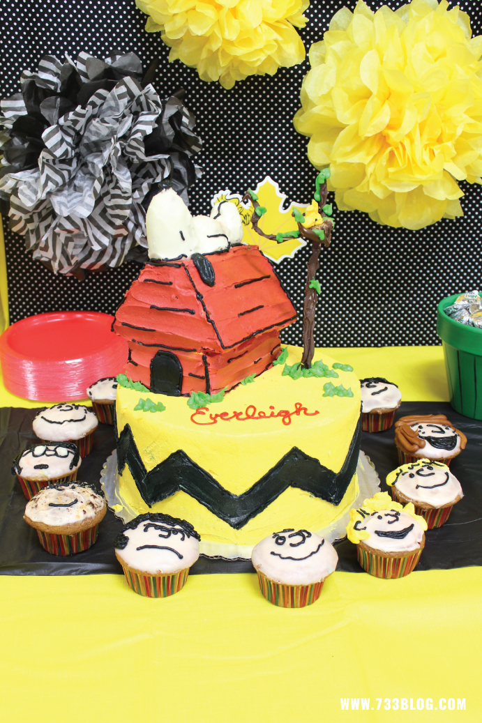 Peanuts Birthday Party