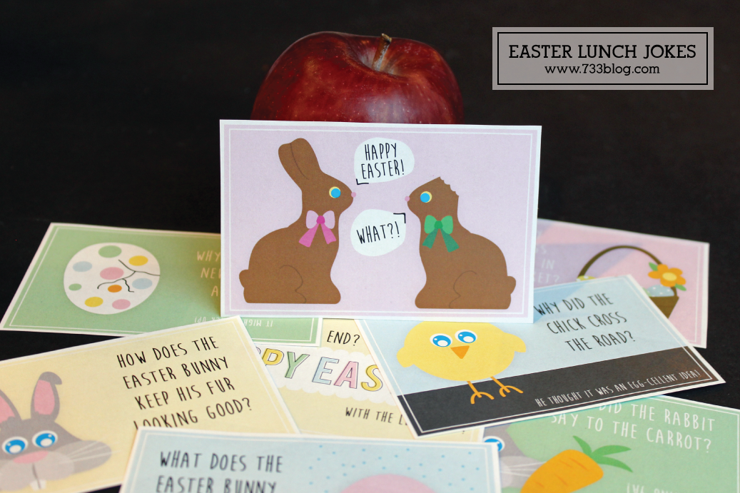 Free Printable Easter Lunch Jokes for Kids