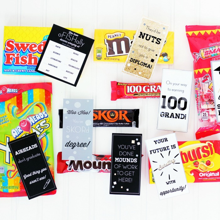 Printable Graduation Candy Bar Wrappers
