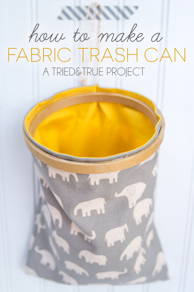 DIY Travel Trash Can Tutorial
