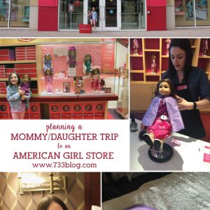 Mommy/Daughter Weekend: American Girl Boston Experience