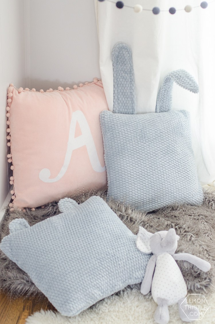 DIY Animal Ear Pillows Tutorial