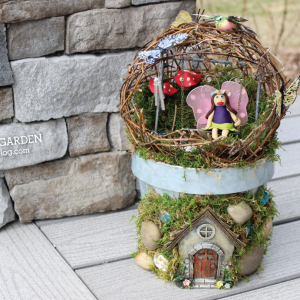DIY Fairy Garden Tutorial