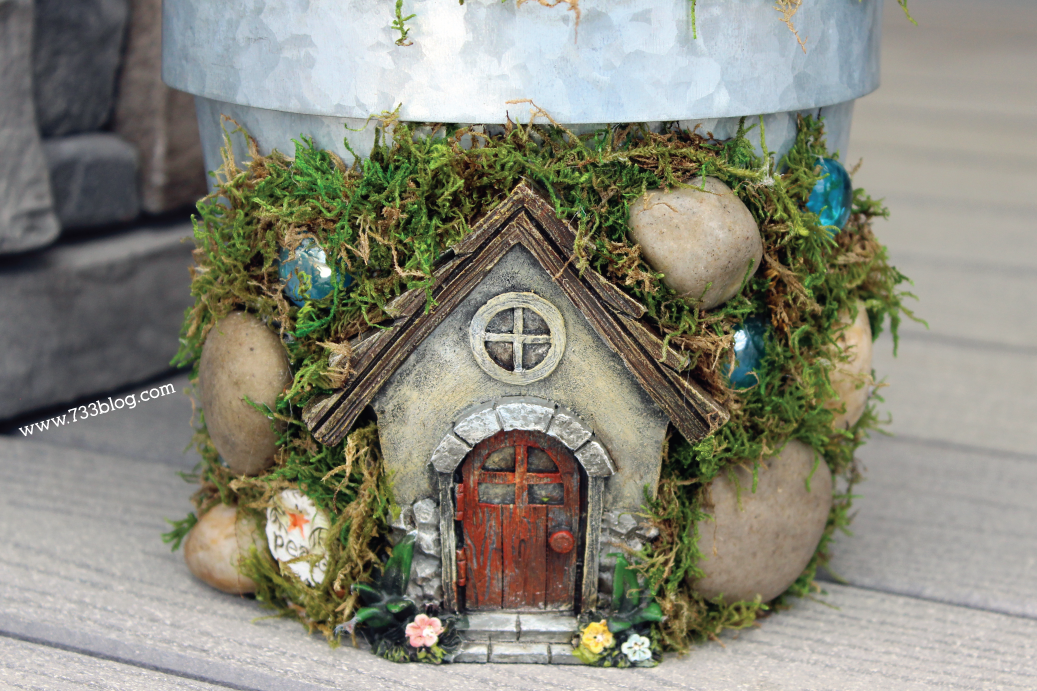 DIY Fairy Garden Home Tutorial