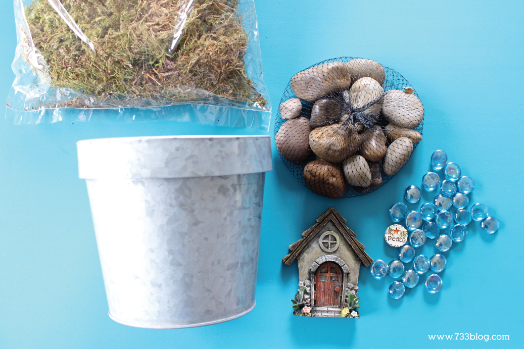 DIY Fairy Garden Planter