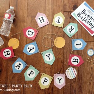 Printable Birthday Pack