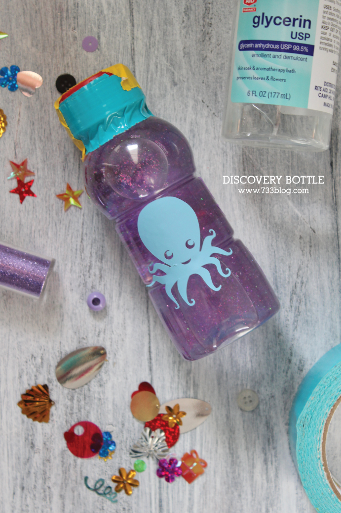 Ocean Themed Discovery Bottle