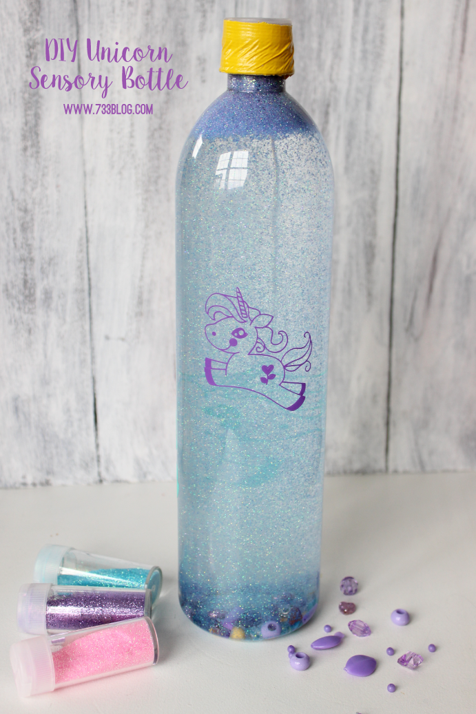 DIY Unicorn Sensory Bottle