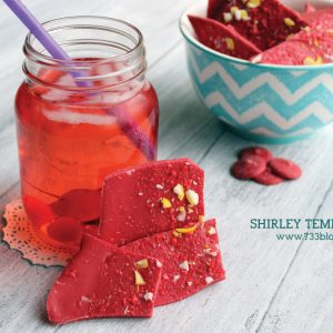 Shirley Temple Bark