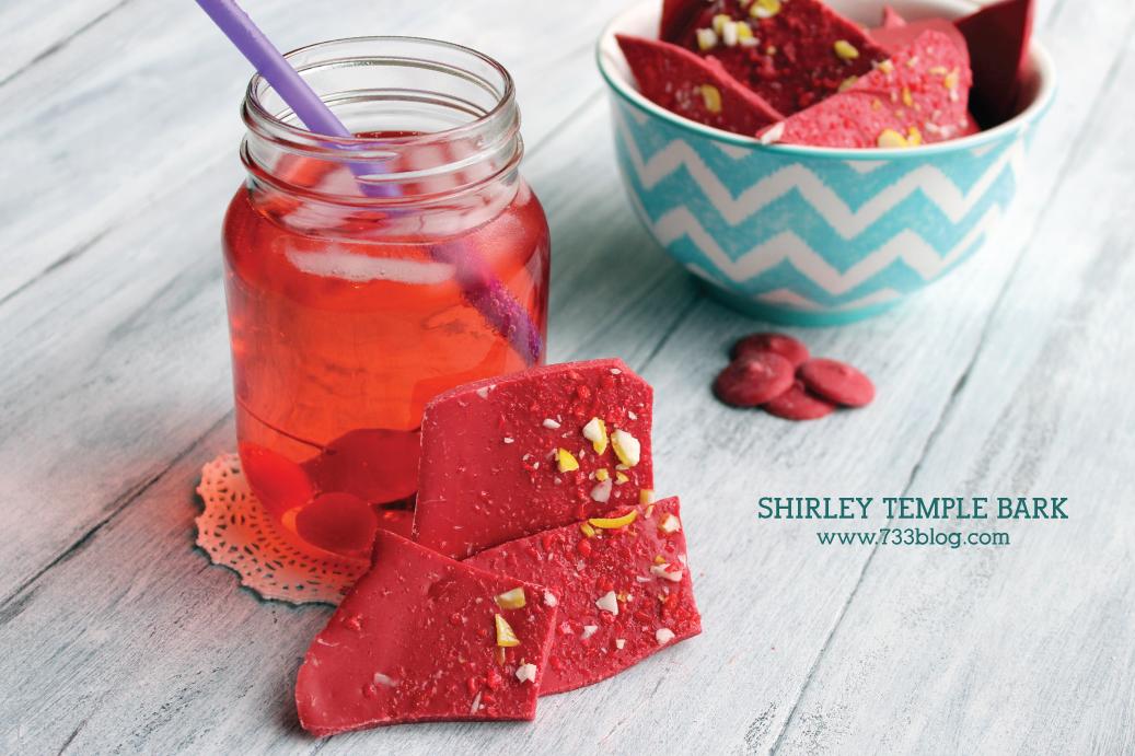 Shirley Temple Bark