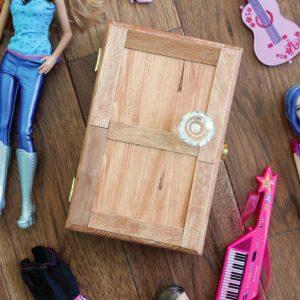 Wardrobe Style Trinket Box