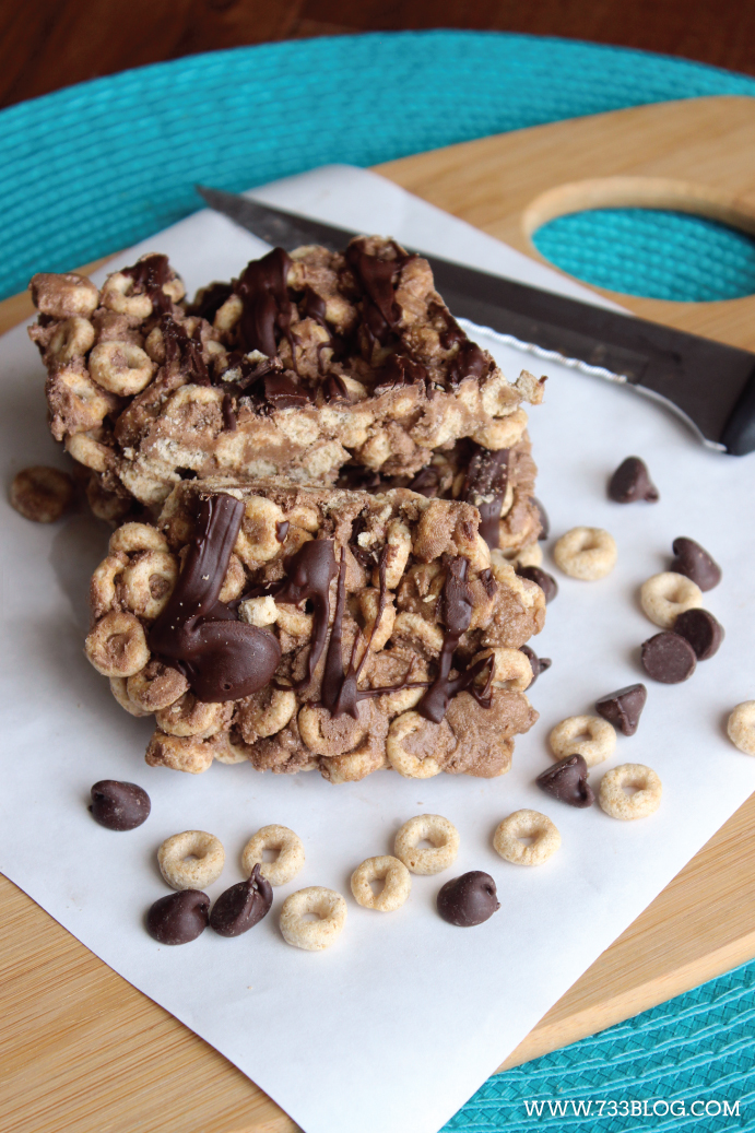 Homemade Protein Bar Recipe - Great on the go snack or breakfast!