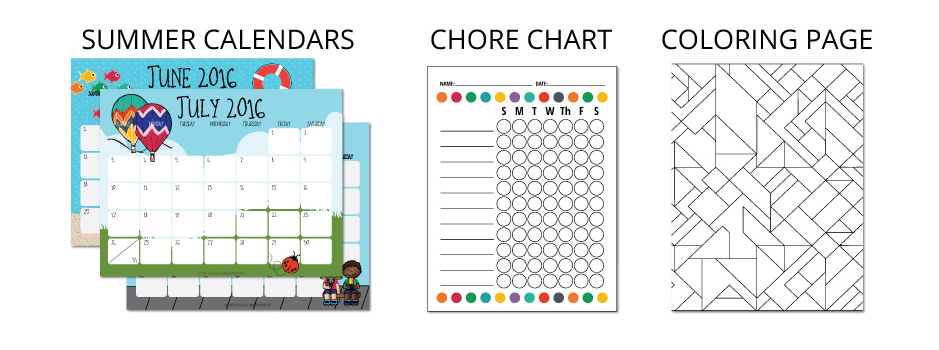 Printable Boredom Buster Kit for Kids