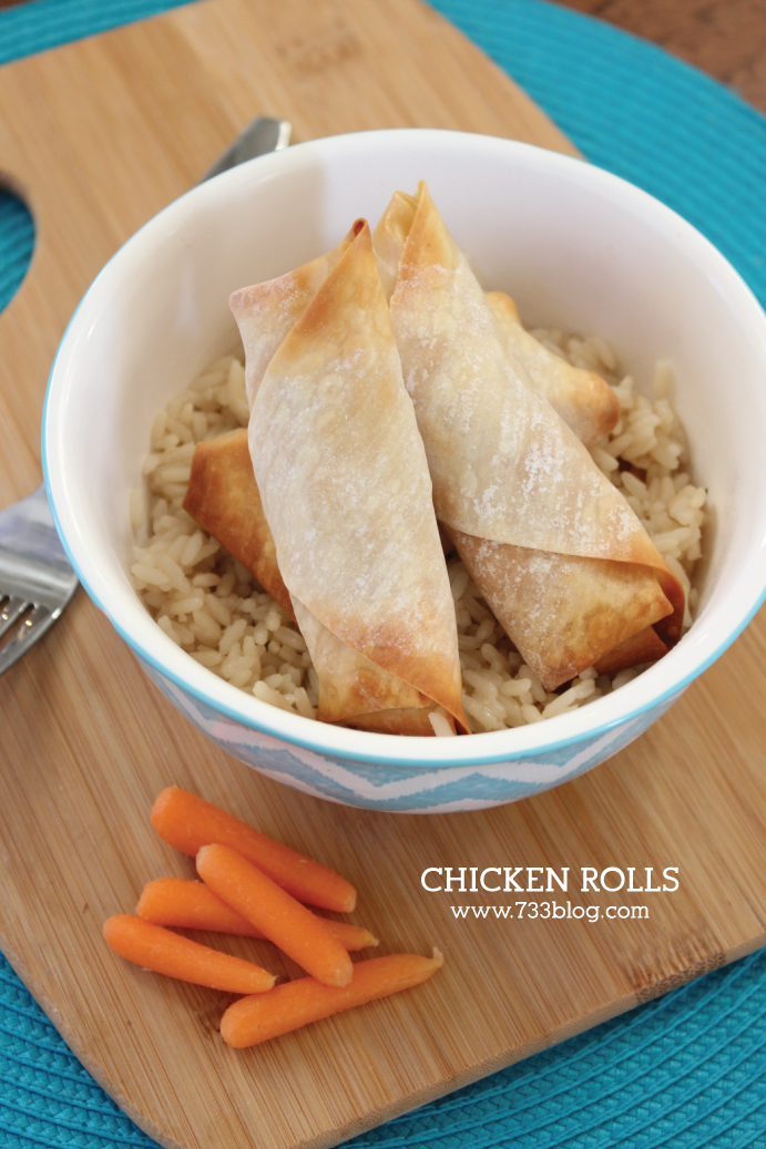 BBQ or Buffalo Chicken Rolls Recipe