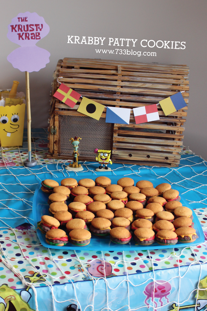 Delicious Krabby Patty Cookies