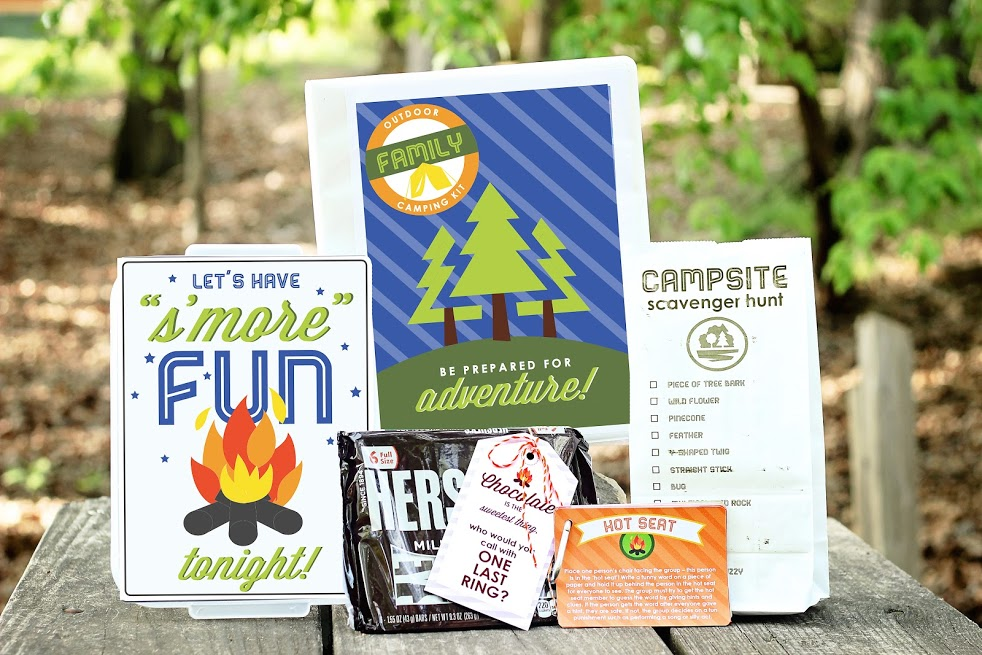 Printable Family Camping Kit