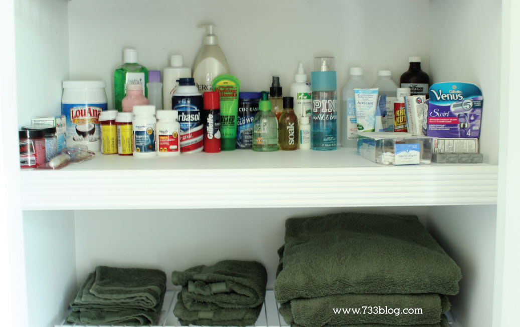 Cover those wire shelves for a cleaner, easier to organize closet!