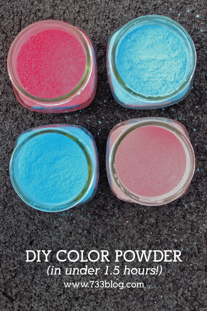 DIY Colored Powder FAST!