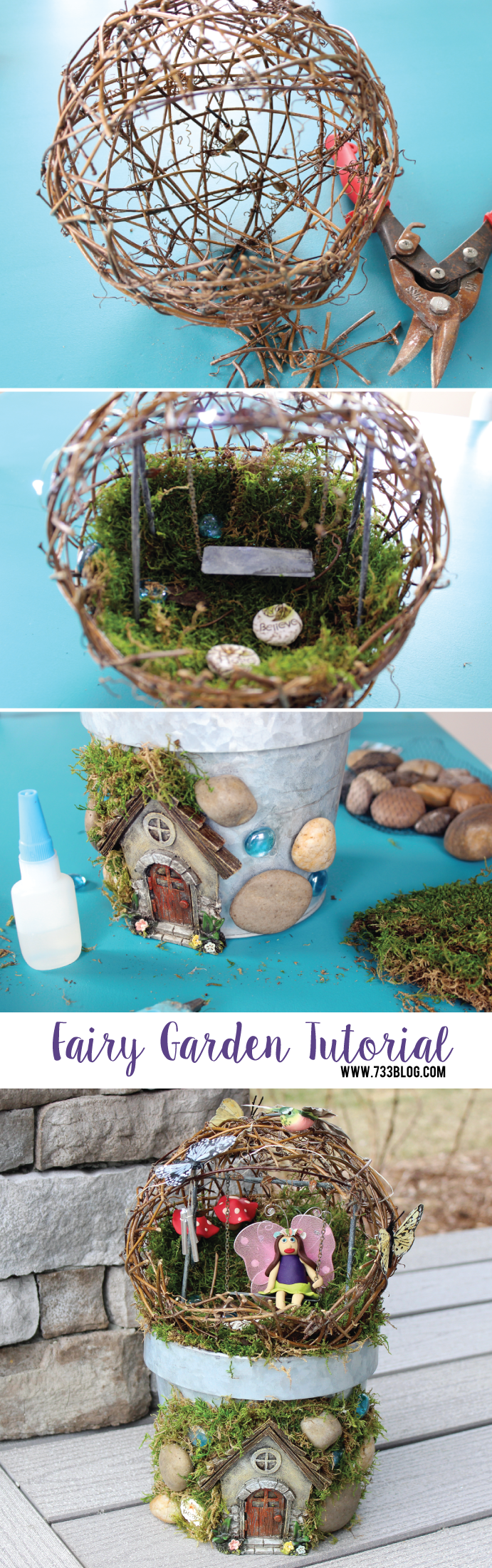 Create your own mini fairy garden