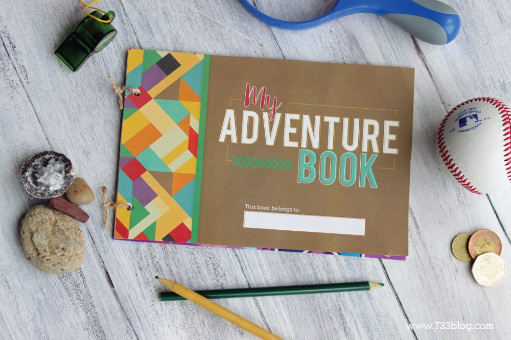 Printable My Adventure Book Kids Craft - Makes a great Summer boredom busert1