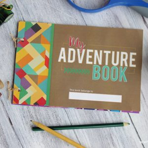My Adventure Book Kids Craft