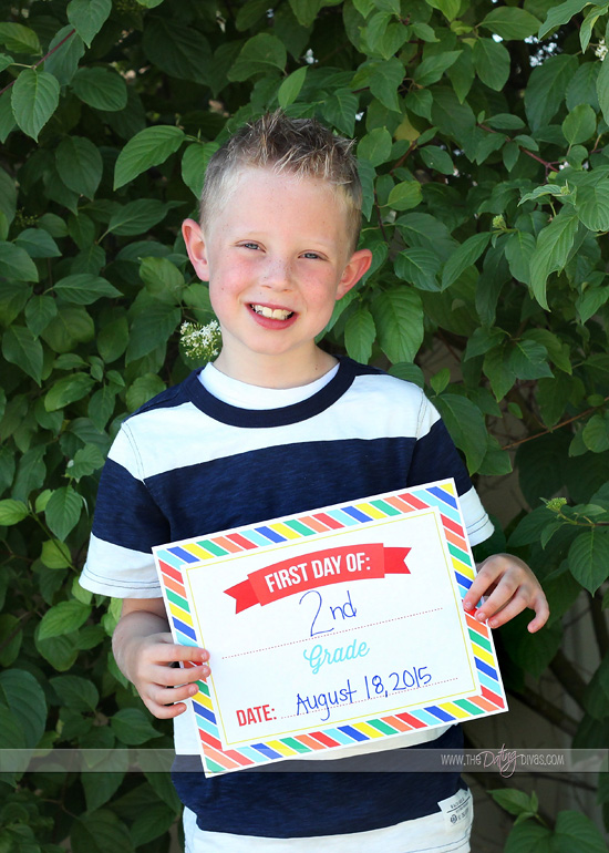 Back to School Printable Sign