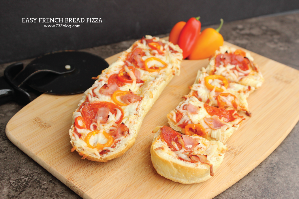 This easy French Bread Pizza recipe is a kid-favorite!