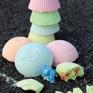 Surprise Inside DIY Sidewalk Chalk
