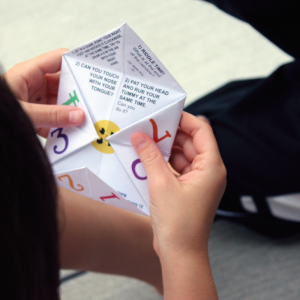 Cootie Catcher Challenge Printable Game