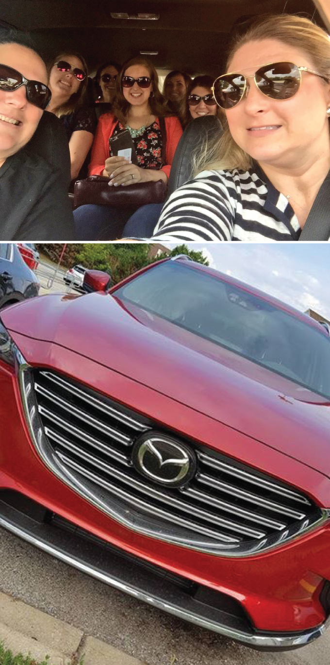 7 Ladies tooling around Chicago in a Mazda CX-9 #drivemazda
