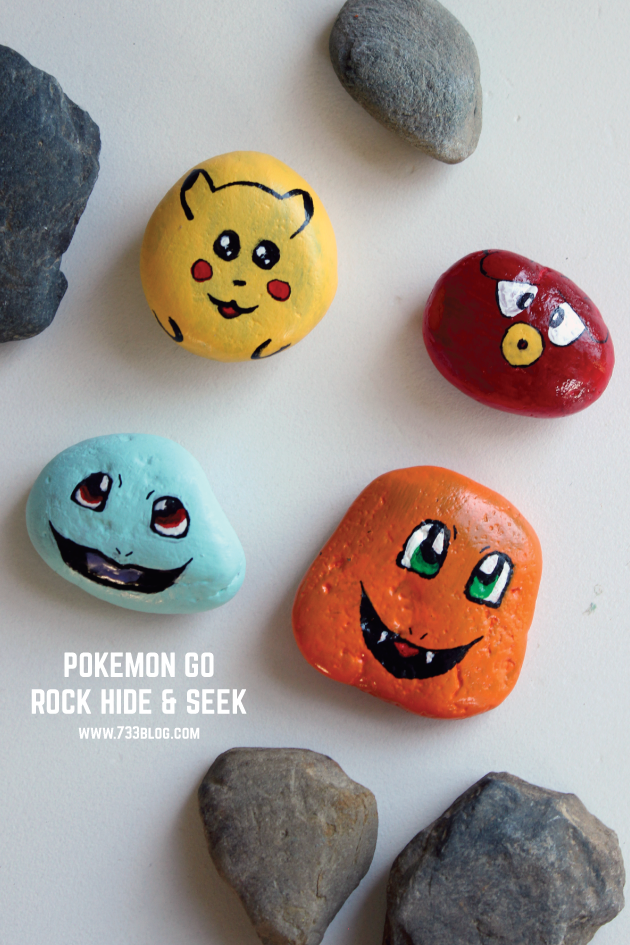 Pokemon Go Rock Hide and Seek