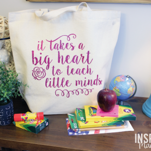 DIY Teacher Tote Gift Idea