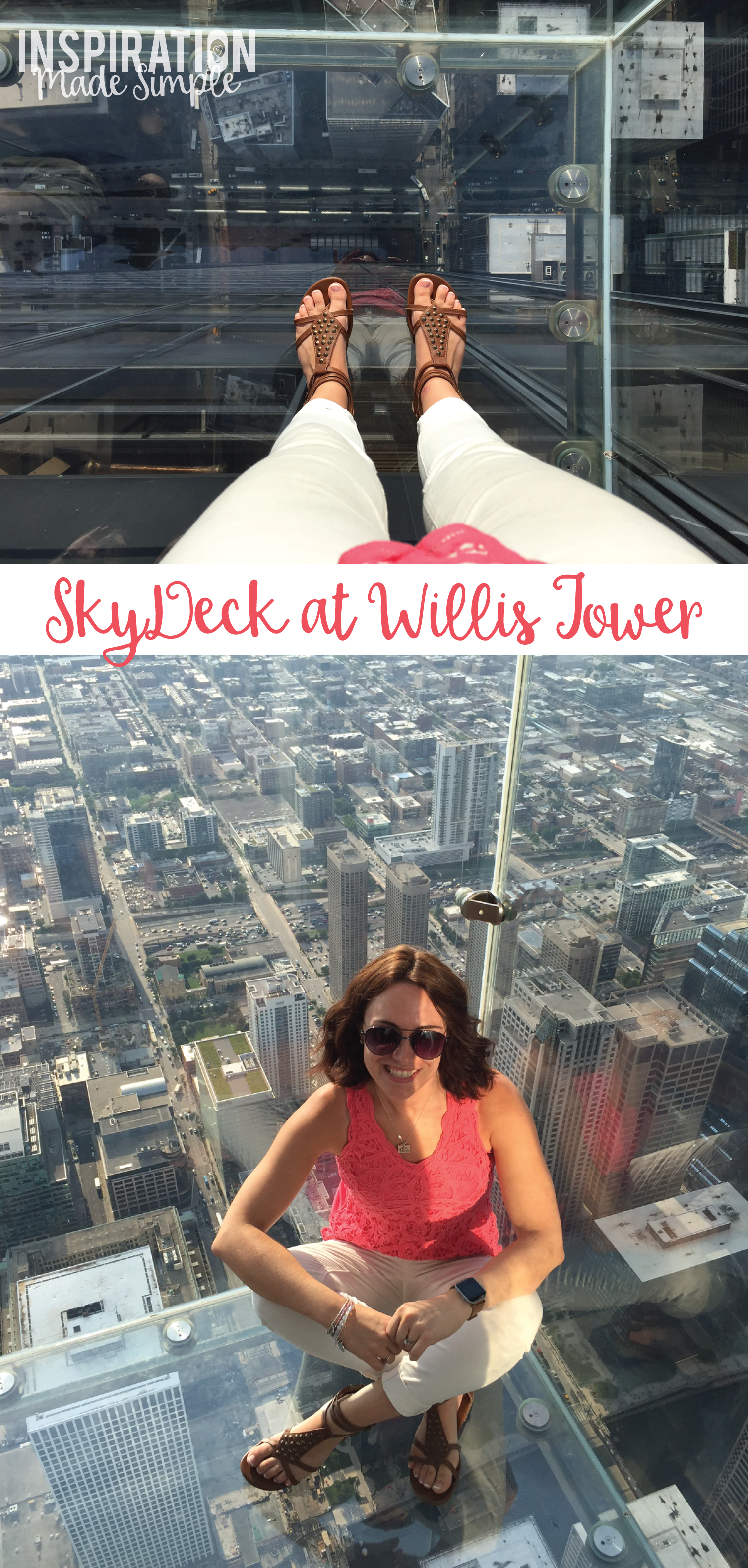 The Skydeck at Willis Tower, Chicago, Illinois #enjoyillinois