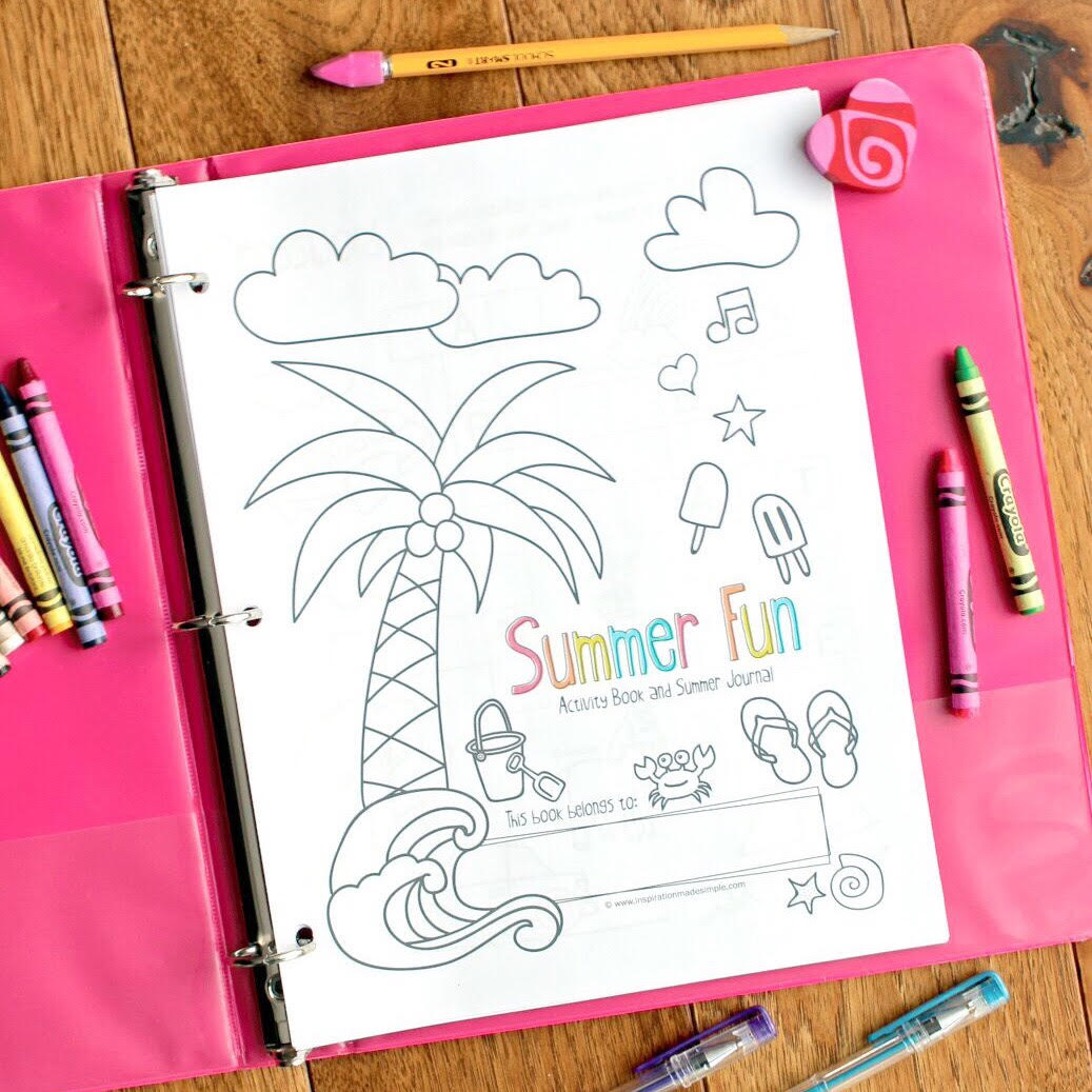 Summer Activity Book and Journal