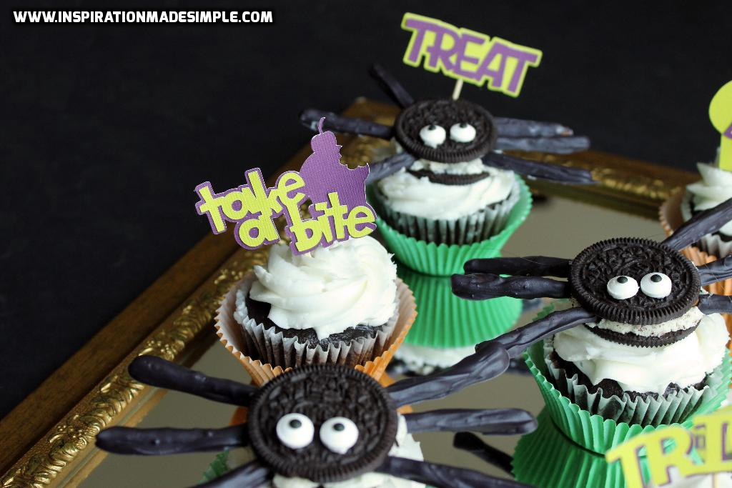 DIY Halloween Cupcake Toppers