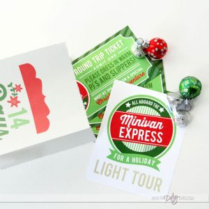 Family Christmas Countdown Printable Bundle