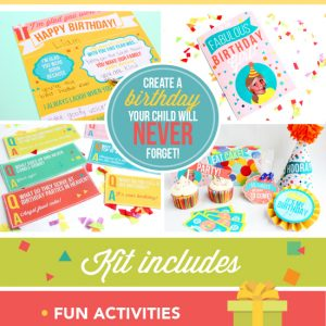 Printable Family Birthday Kit