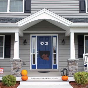 Cookie Monster Door