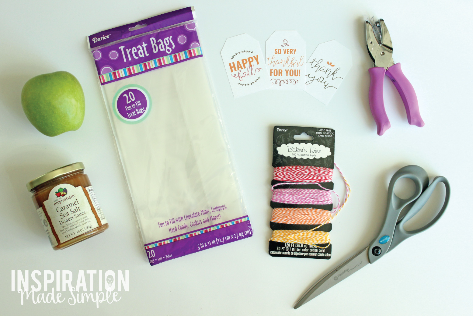 Fall Gift Ideas with Printable Gift Tags