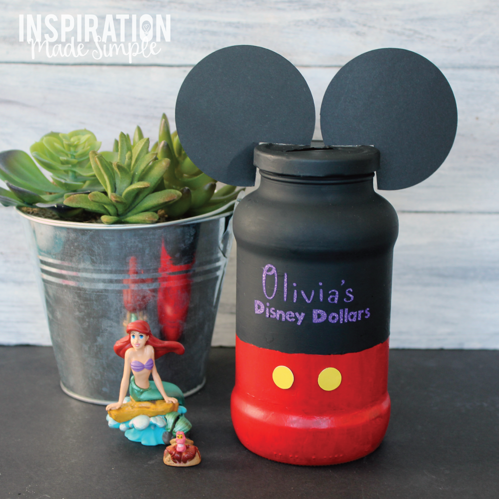 Mickey Mouse Disney Savings Jar