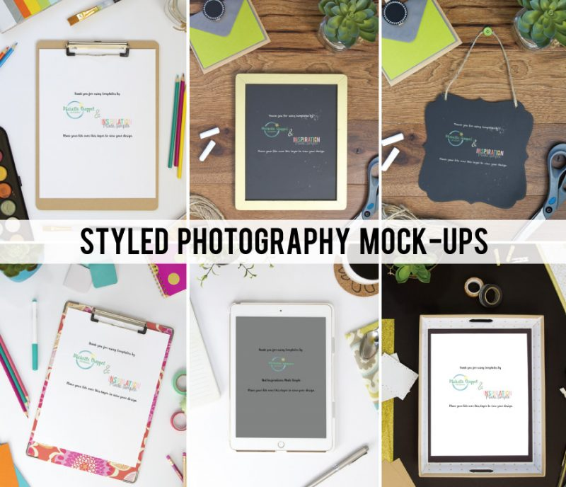 Styled Photography Mock-Up - STYLED STOCK PHOTOS for Growing Businesses - Designed to Make Gorgeous Branding EASY