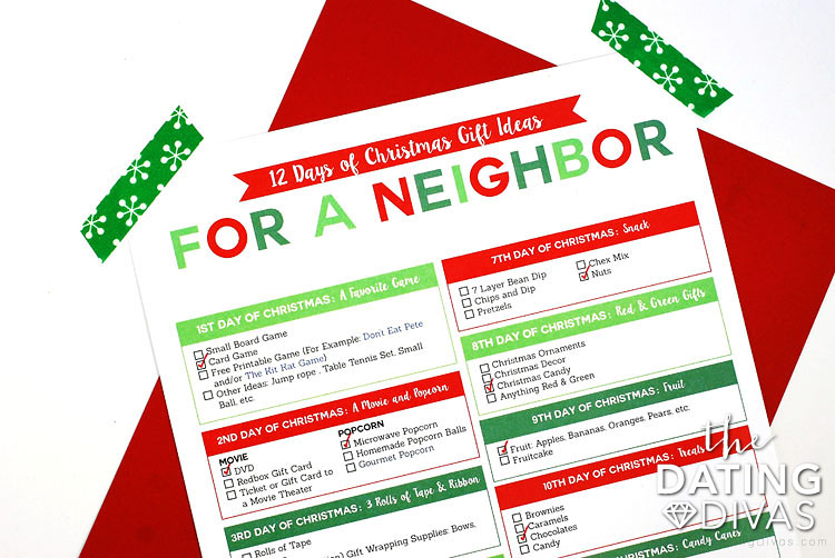 Holiday Shopping List and Organizer