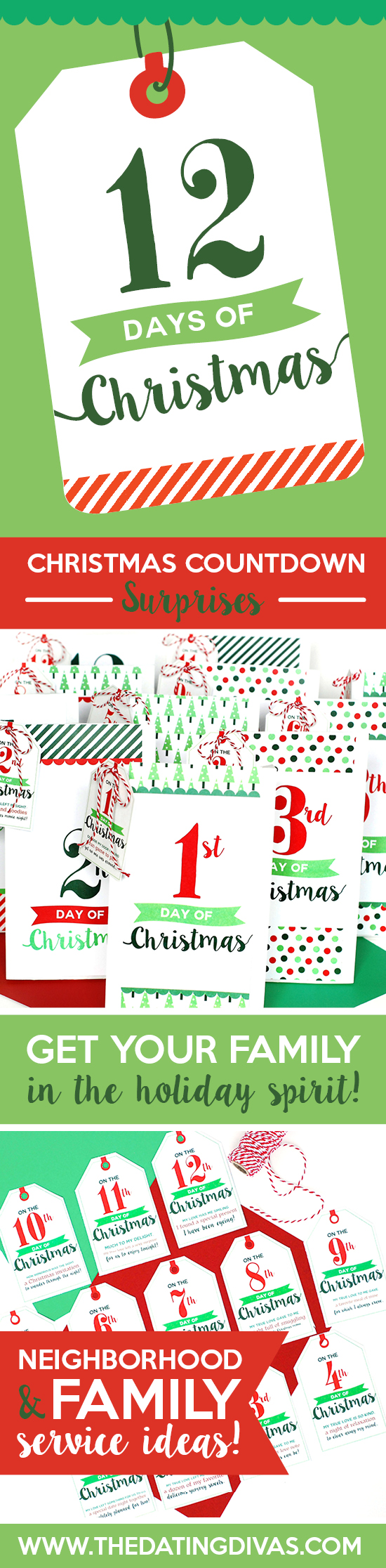 image regarding 12 Days of Christmas Printable known as 12 Times of Xmas Printable Assistance Thought - Drive