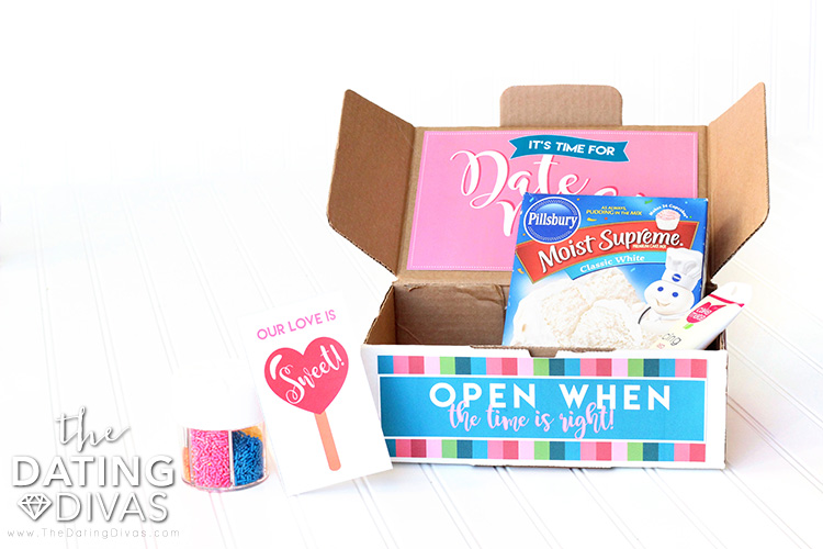 Open When... Date Boxes - so many fun and creative date ideas - you'll never have a boring date night again!