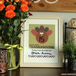 Printable Thanksgiving Countdown